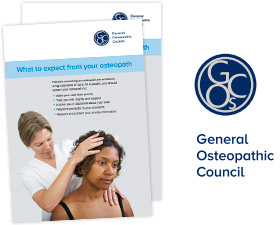 General Osteopathic Council Brochure